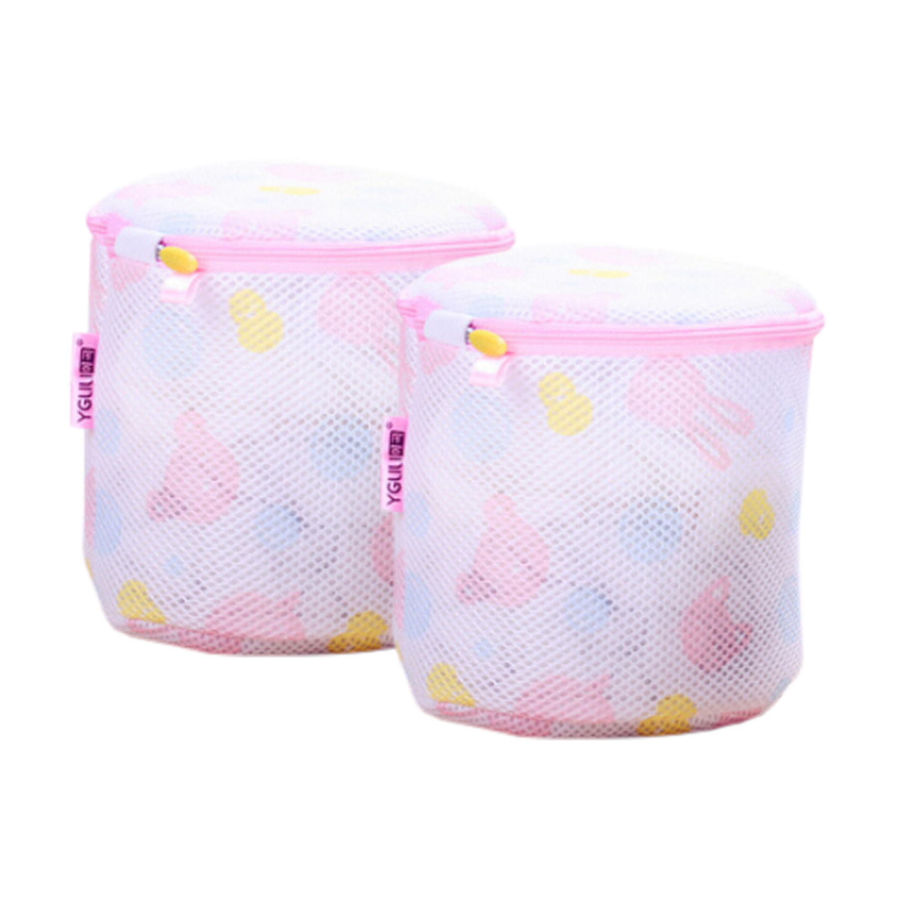 Set Of 2 Clothes Protector Laundry Bag Washing Bag Safely Separate Cute Cartoon Ke-Hom3744371-Amy01057 KE-HOM3744371-AMY01057