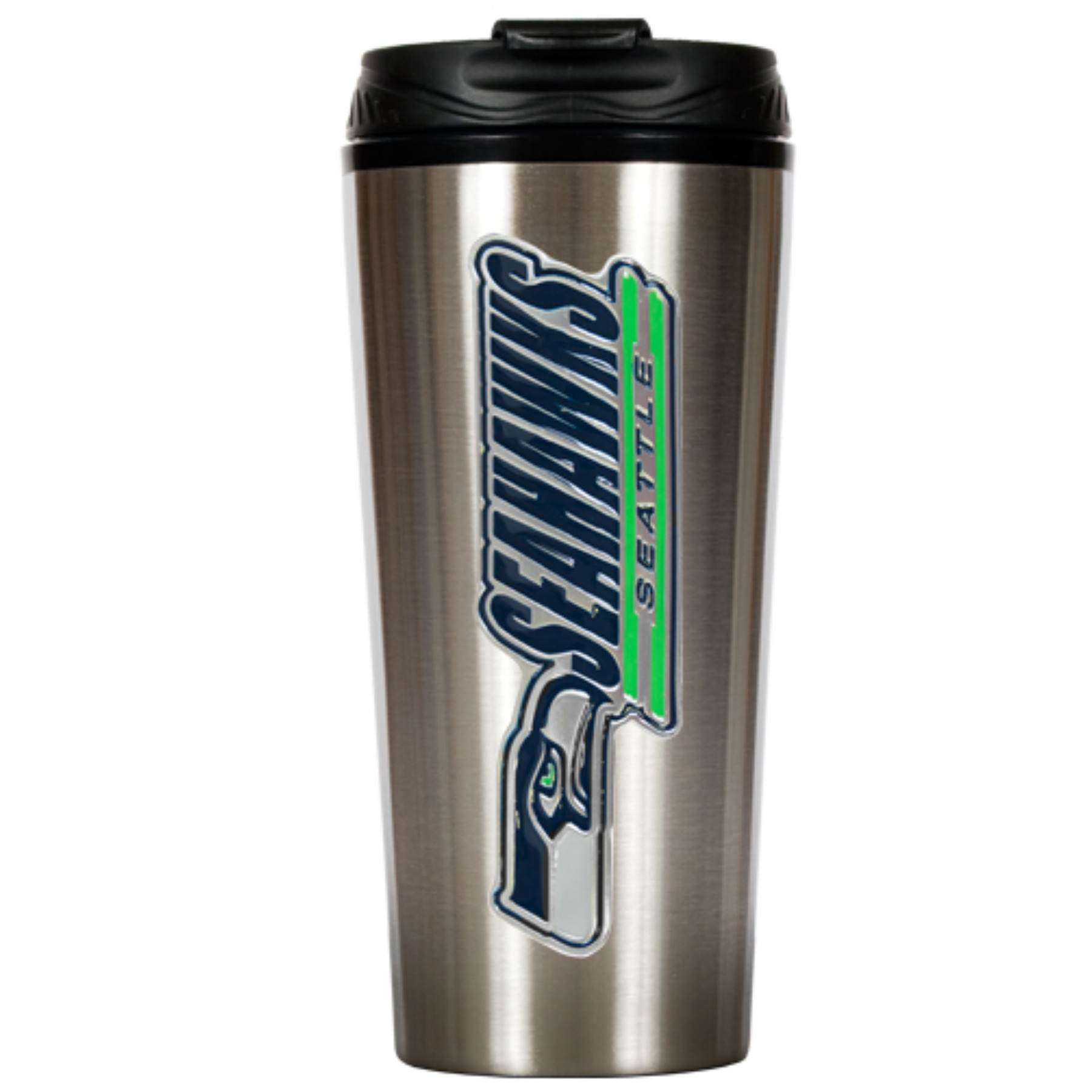 Seattle Seahawks Slim Stainless Steel NFL Travel Tumbler TTS2006-14