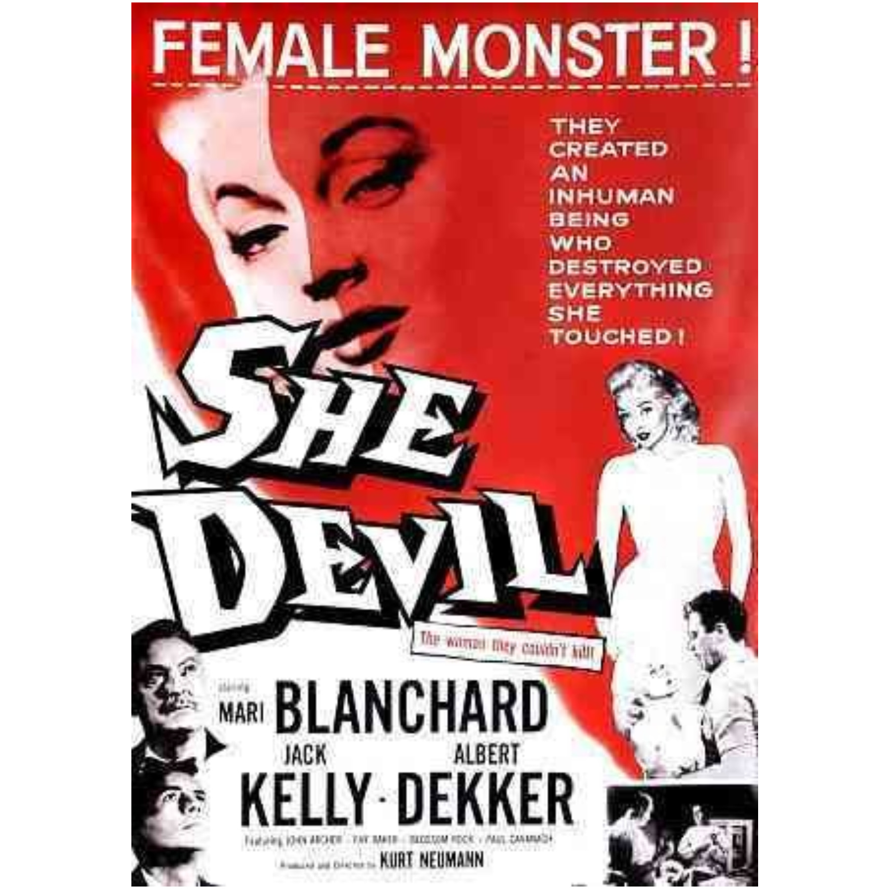 She Devil DVD 1957/Ws 887090055505