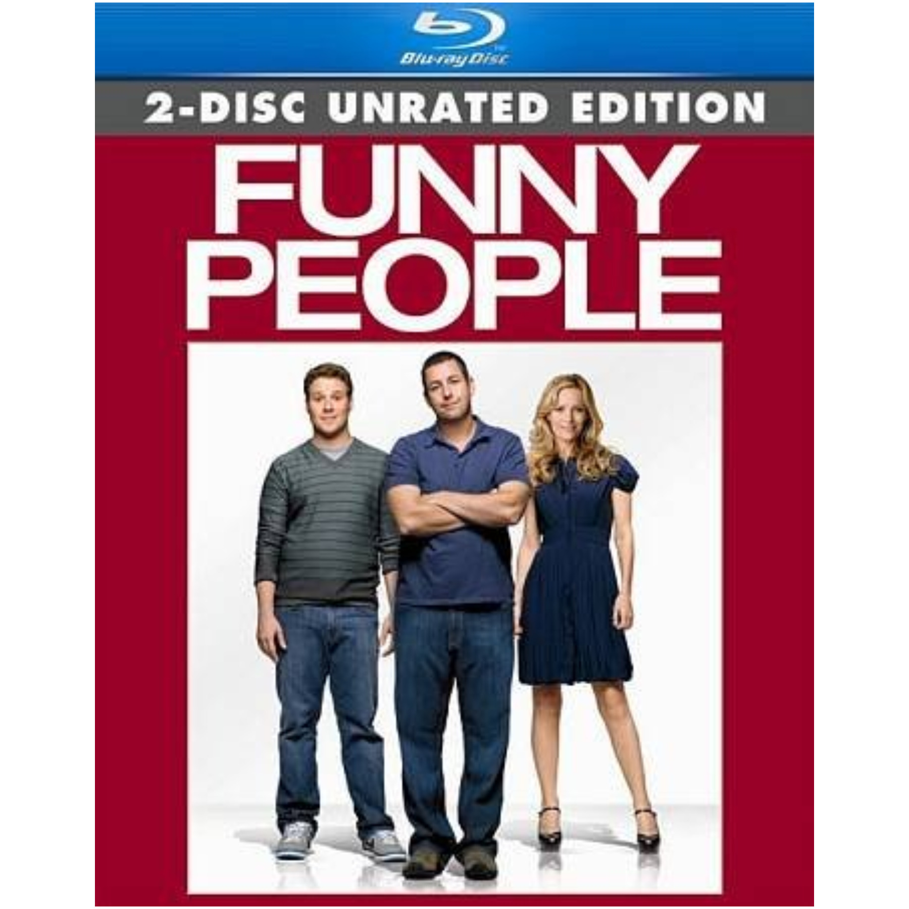 Funny People Blu Ray 2discs/Eng Sdh/Span/Fren/Dts-Hd/Dol Dig 2.0 025195053723