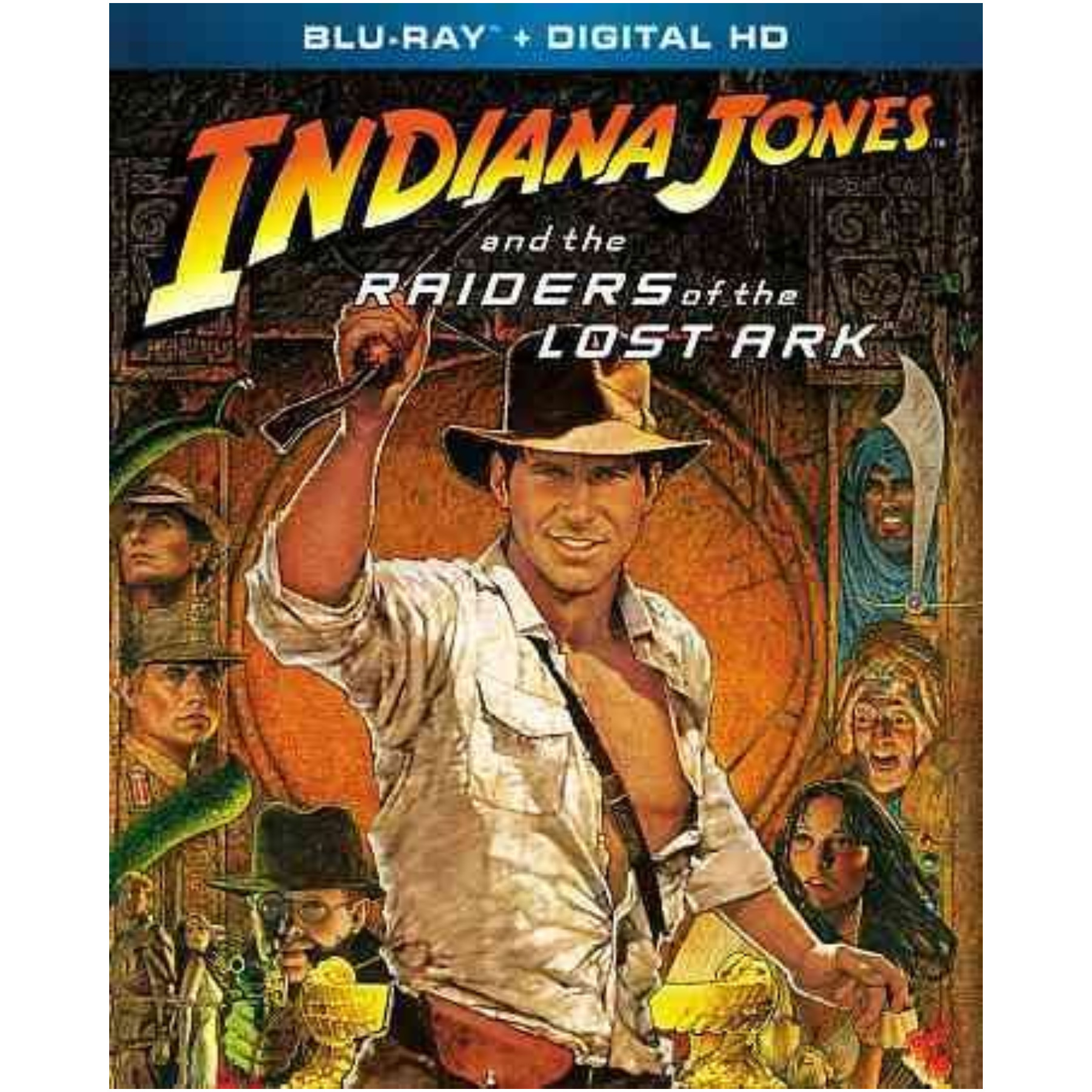 Indiana Jones & The Raiders Of The Lost Ark Blu Ray 032429134943