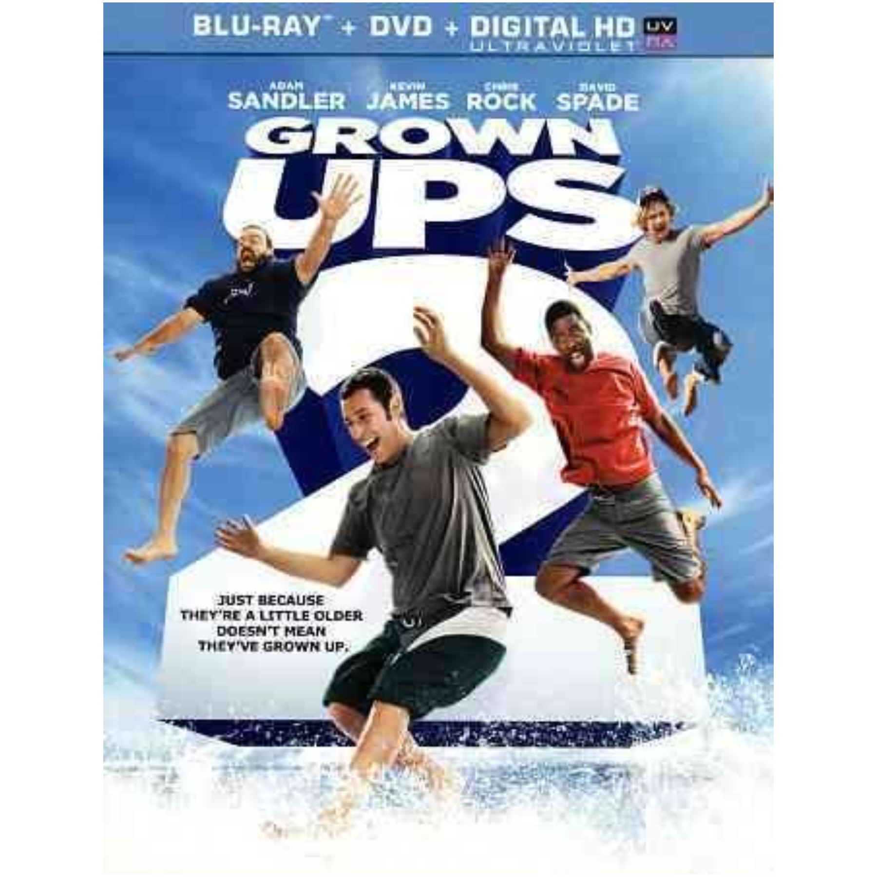 Grown Ups 2 Blu-Ray/DVD Combo/Ultra Violet/Dol Dig 5.1/Eng/Fren-Paris 043396417489