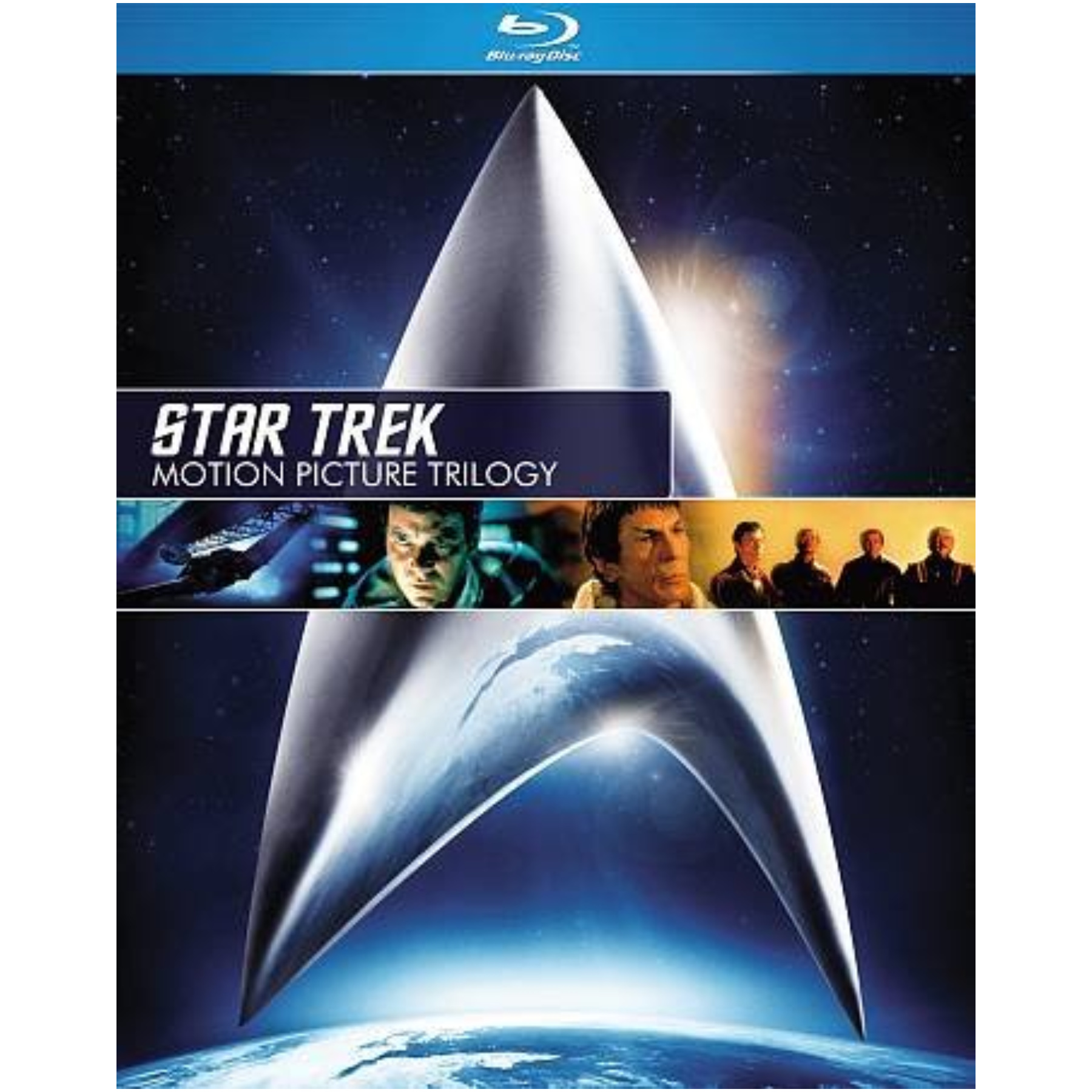 Star Trek-Motion Picture Trilogy Blu-Ray/3 Discs 097361427744