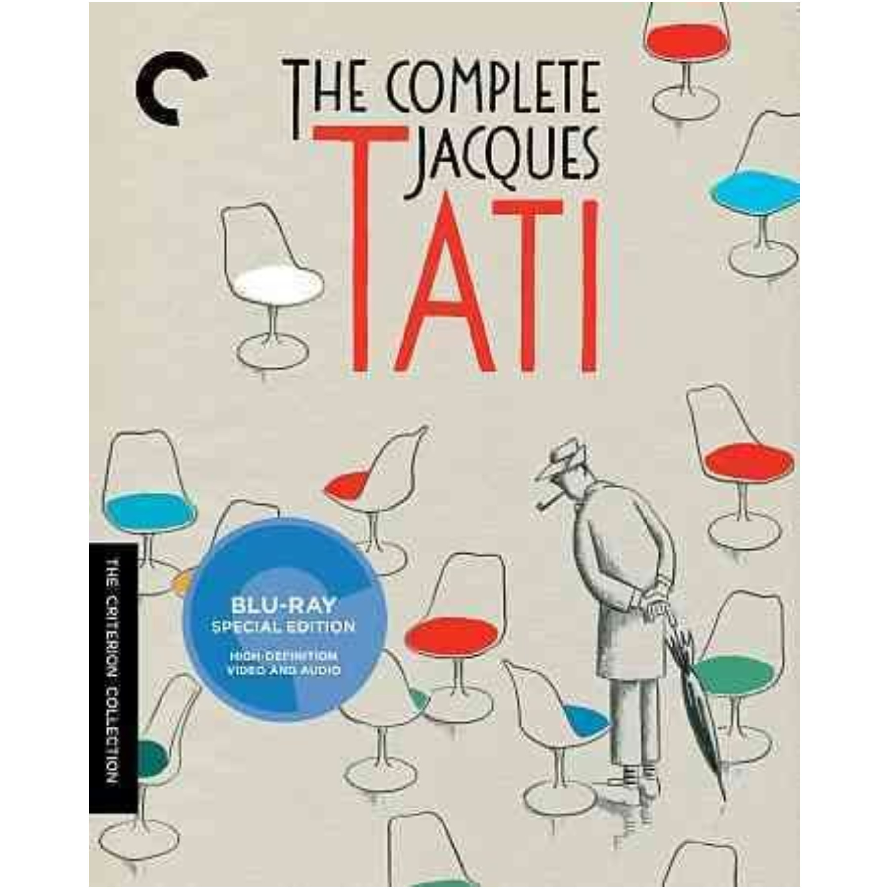 Complete Jacques Tati Blu-Ray/B&With Color/French/Eng Sub/7 Disc/1949-1974 715515128315