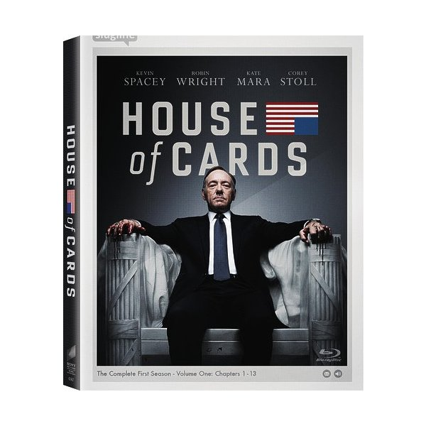 House Of Cards: Season 1 Blu-Ray 04339642467