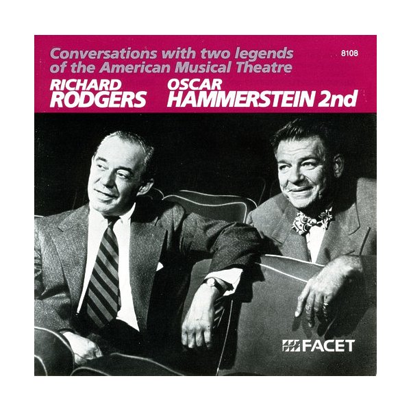 Rodgers & Hammerstein Conversations With 2 Legends O CD 01349181082