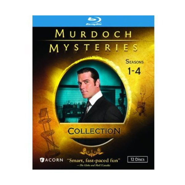 Murdoch Mysteries Collection: Seasons 1-4 Blu-Ray 05496189789