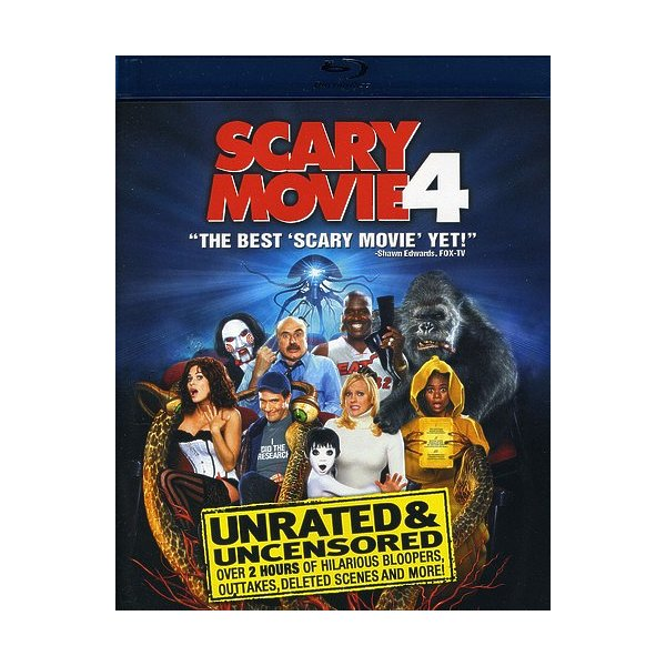 Scary Movie 4 Blu-Ray 88347603141