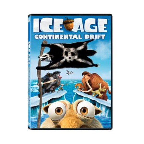 Ice Age: Continental Drift DVD 02454380028