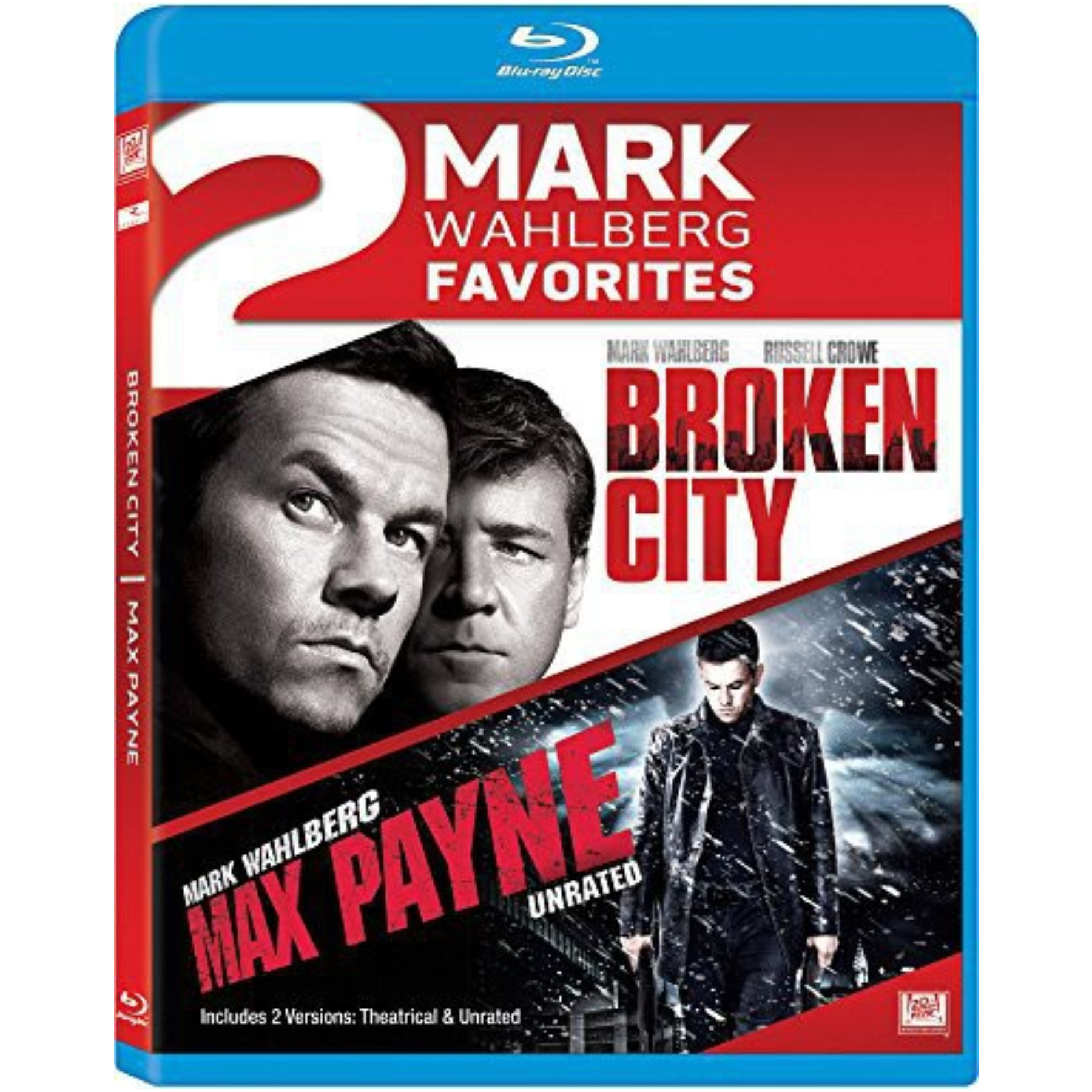 Broken City / Max Payne Double Feature Blu-Ray 02454398833