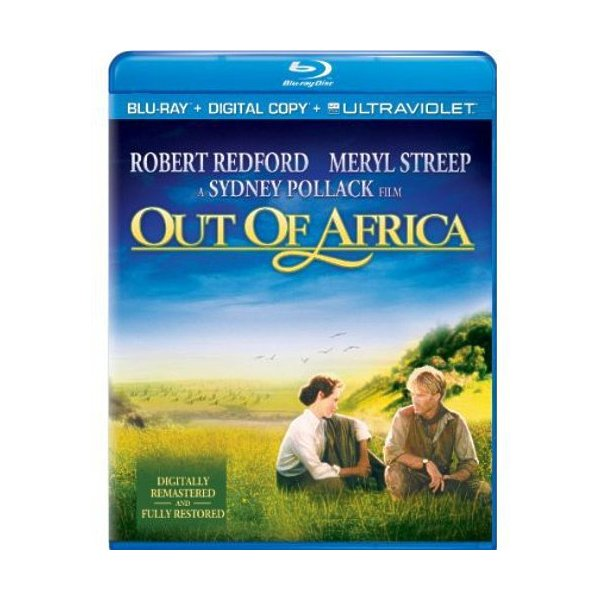 Out Of Africa Blu-Ray 02519204555