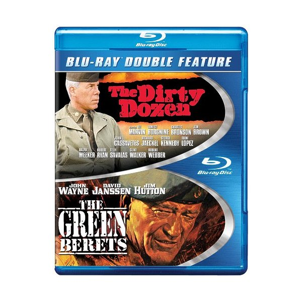 Dirty Dozen/Green Berets Blu-Ray 88392931055