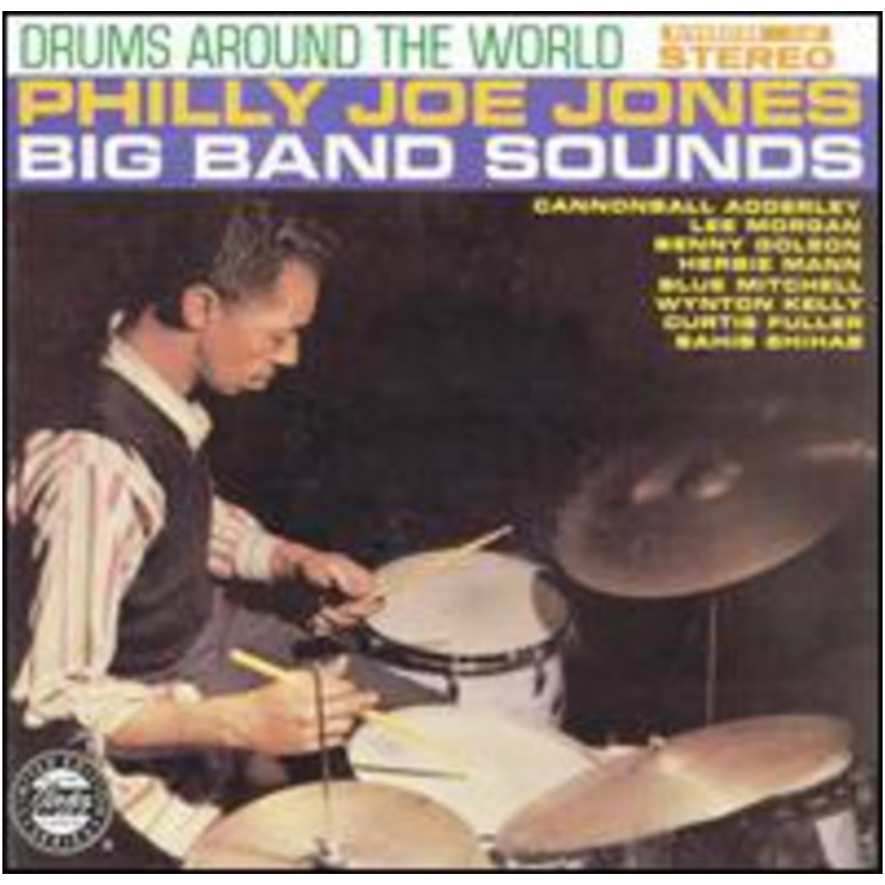 Philly Joe Jones Drums Around The World CD 02521817922