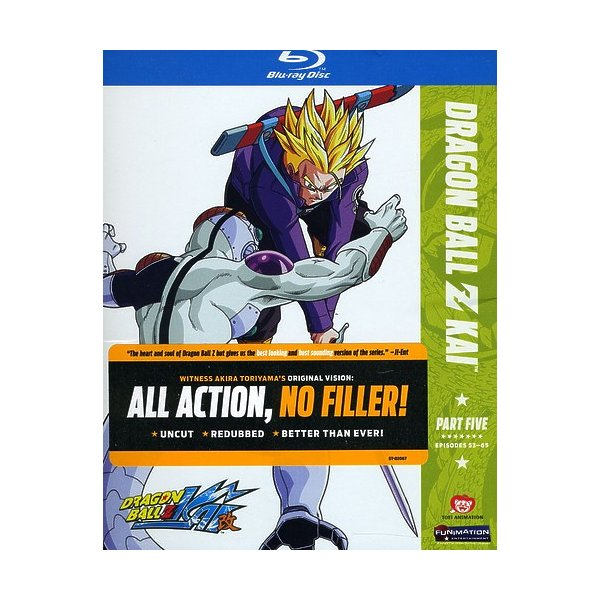 Dragon Ball Z Kai: Season 1 Pt. 5 Blu-Ray 70440008789