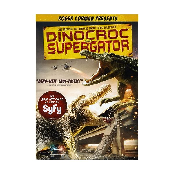David Carradine Dinocroc Vs. Supergator DVD 01313228499