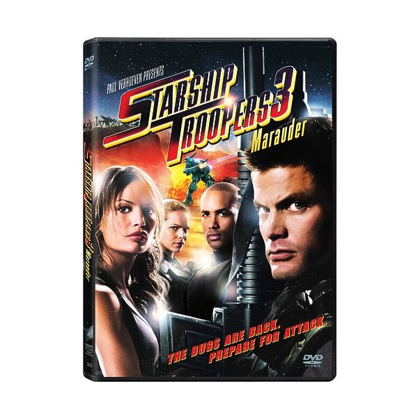 Starship Troopers 3: Marauder DVD 04339624376