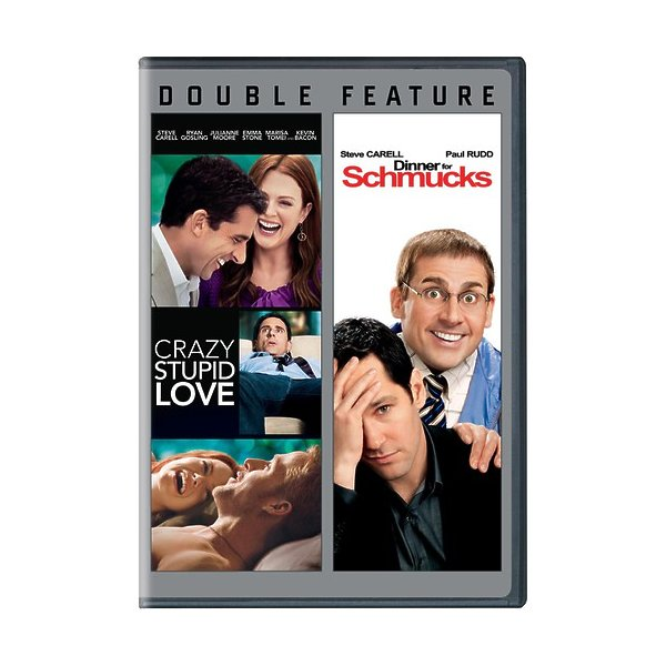 Crazy Stupid Love/Dinner For Schmucks DVD 88392938986