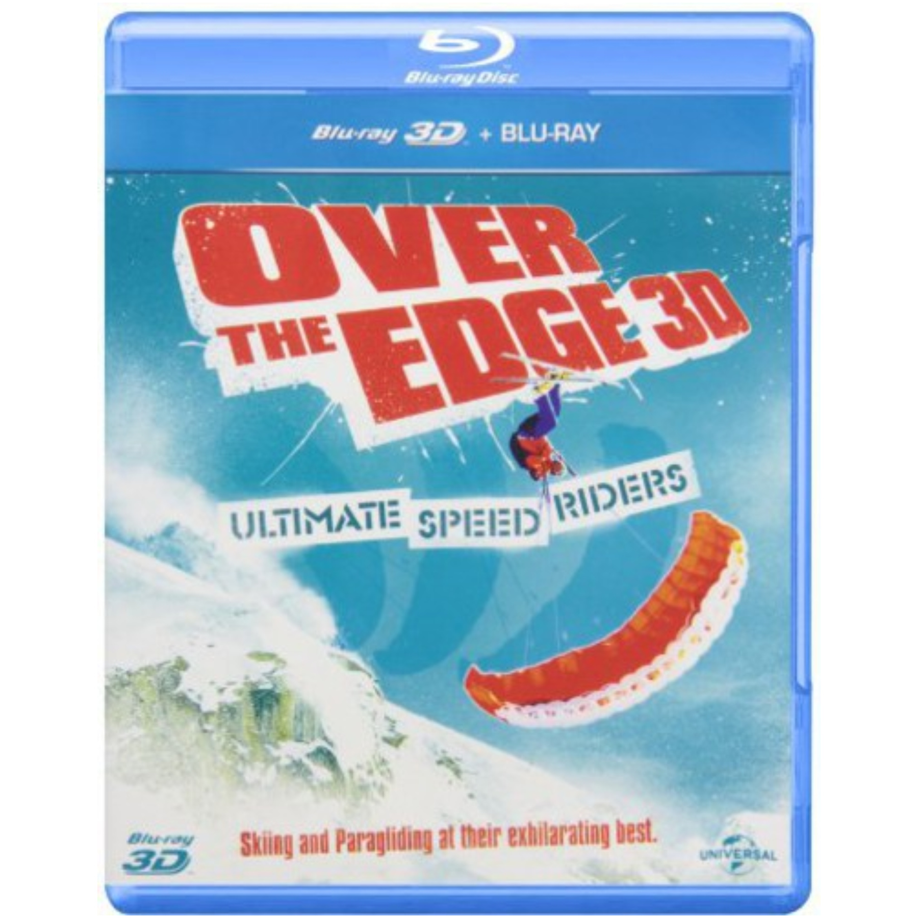 Over The Edge 3D Blu-Ray 489167034107