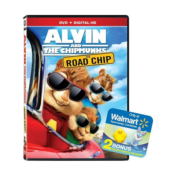 Alvin & The Chipmunks: The Road Chip DVD 02454314580
