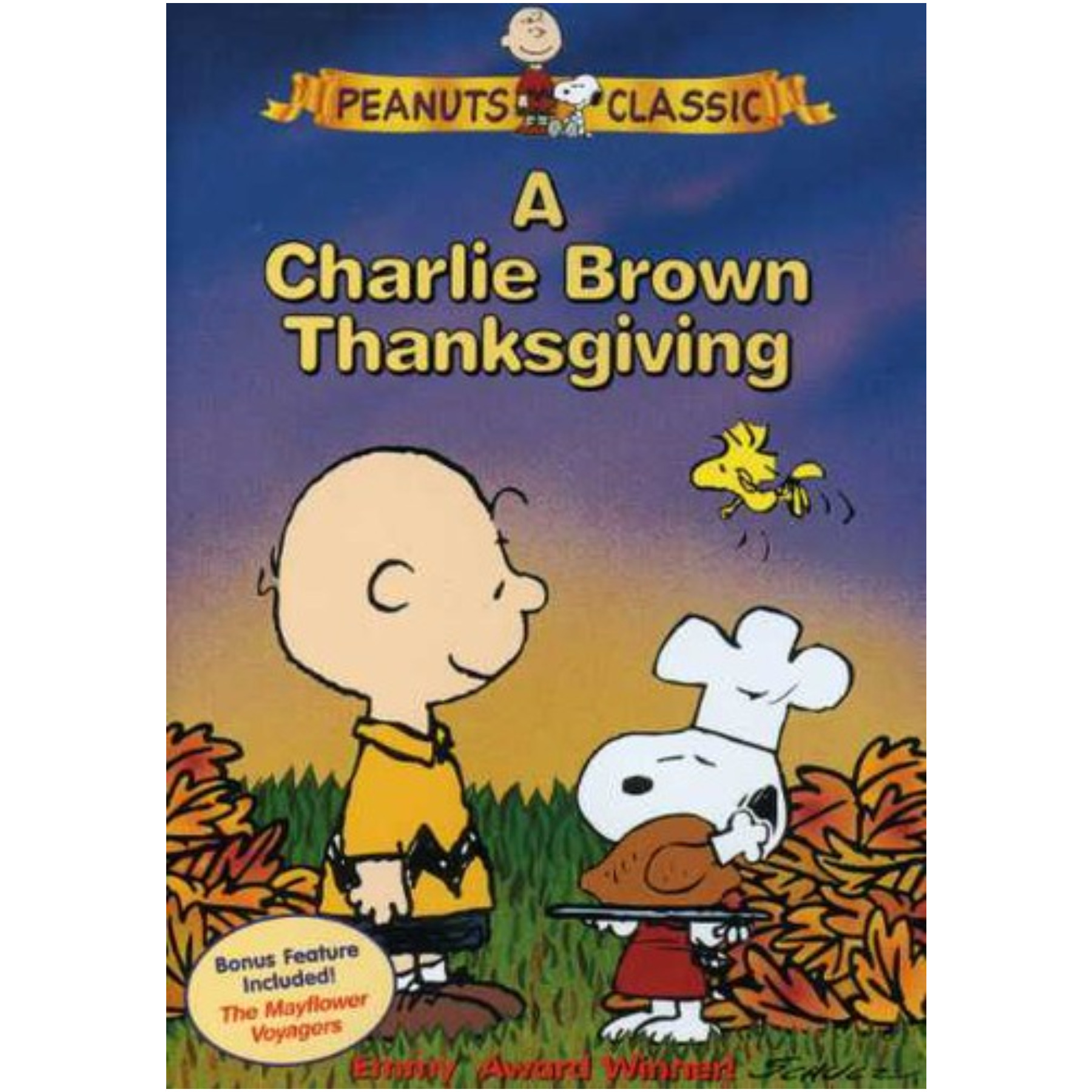 Peanuts Charlie Brown Thanksgiving/May DVD 09736156124