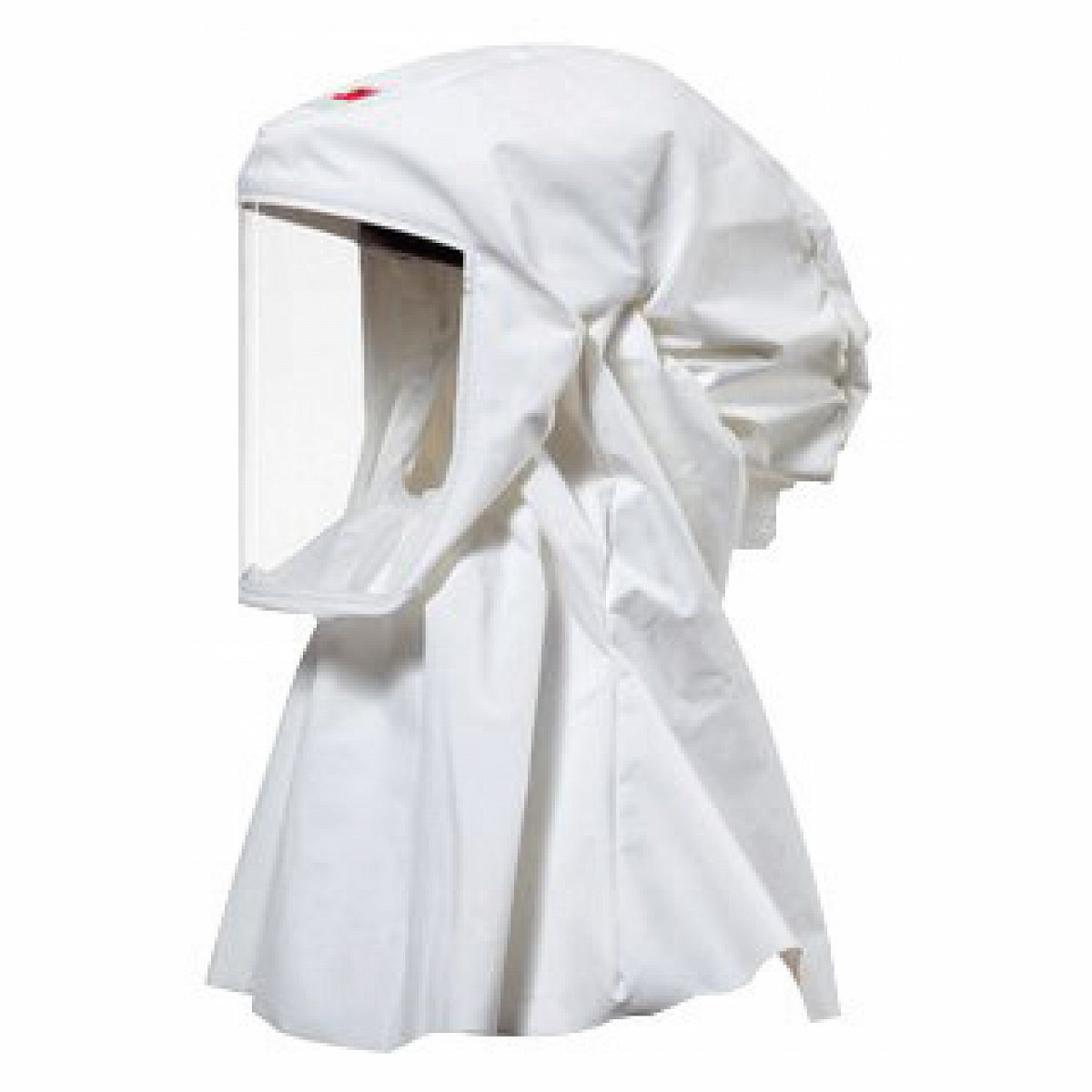 3M Small/Medium Polyurethane Coated Knitted Nylon S-Series Versaflo White High Durability Hood With Integrated Head Suspensio S-533S