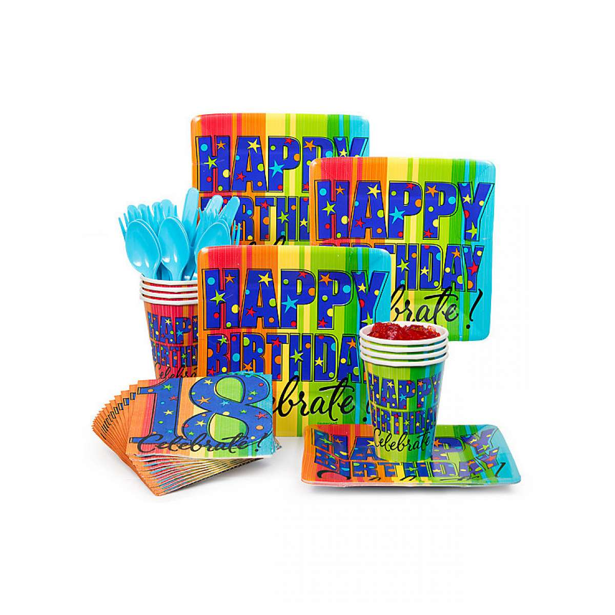 Costume Supercenter Bbkit106 A Year To Celebrate 18th Birthday Standard Kit BBKIT105