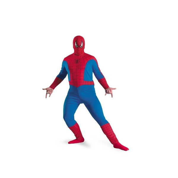 Spiderman adult plus costume DG11668C