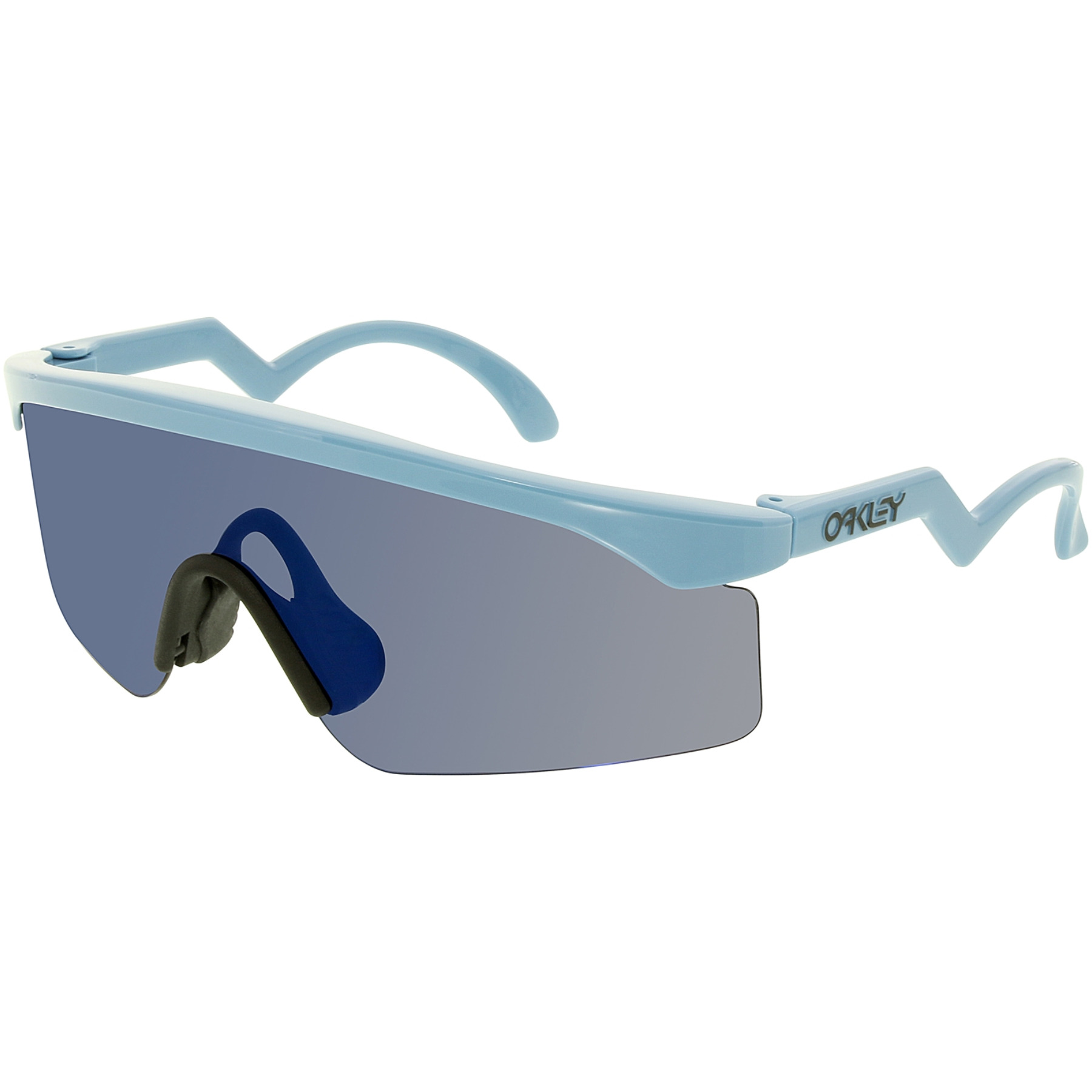 Oakley Men's Heritage Oo9140-16 Blue Shield Sunglasses OO9140-16
