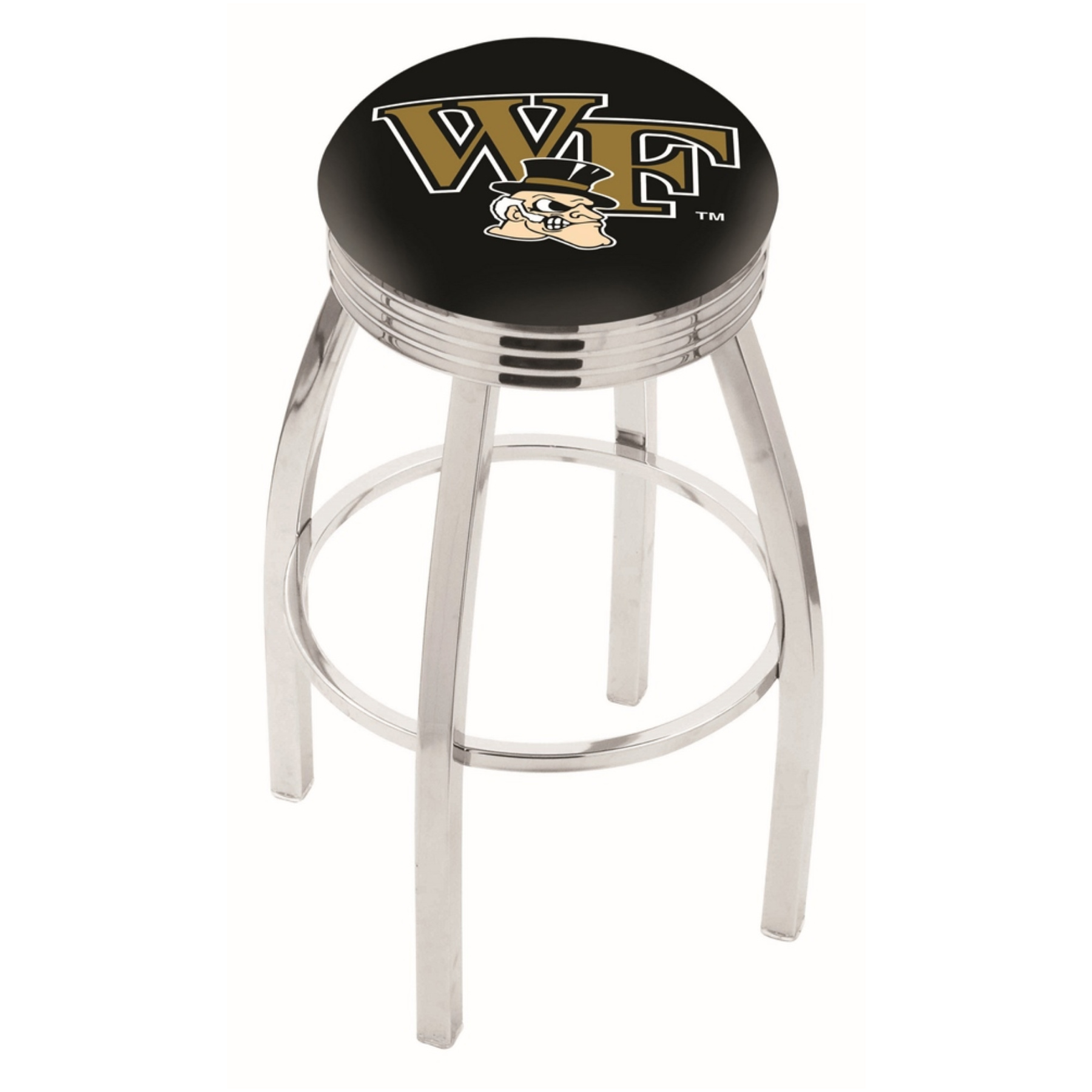 Wake Forest Demon Deacons L8c3c Bar Stool By Hbs L8C3CWakeFr