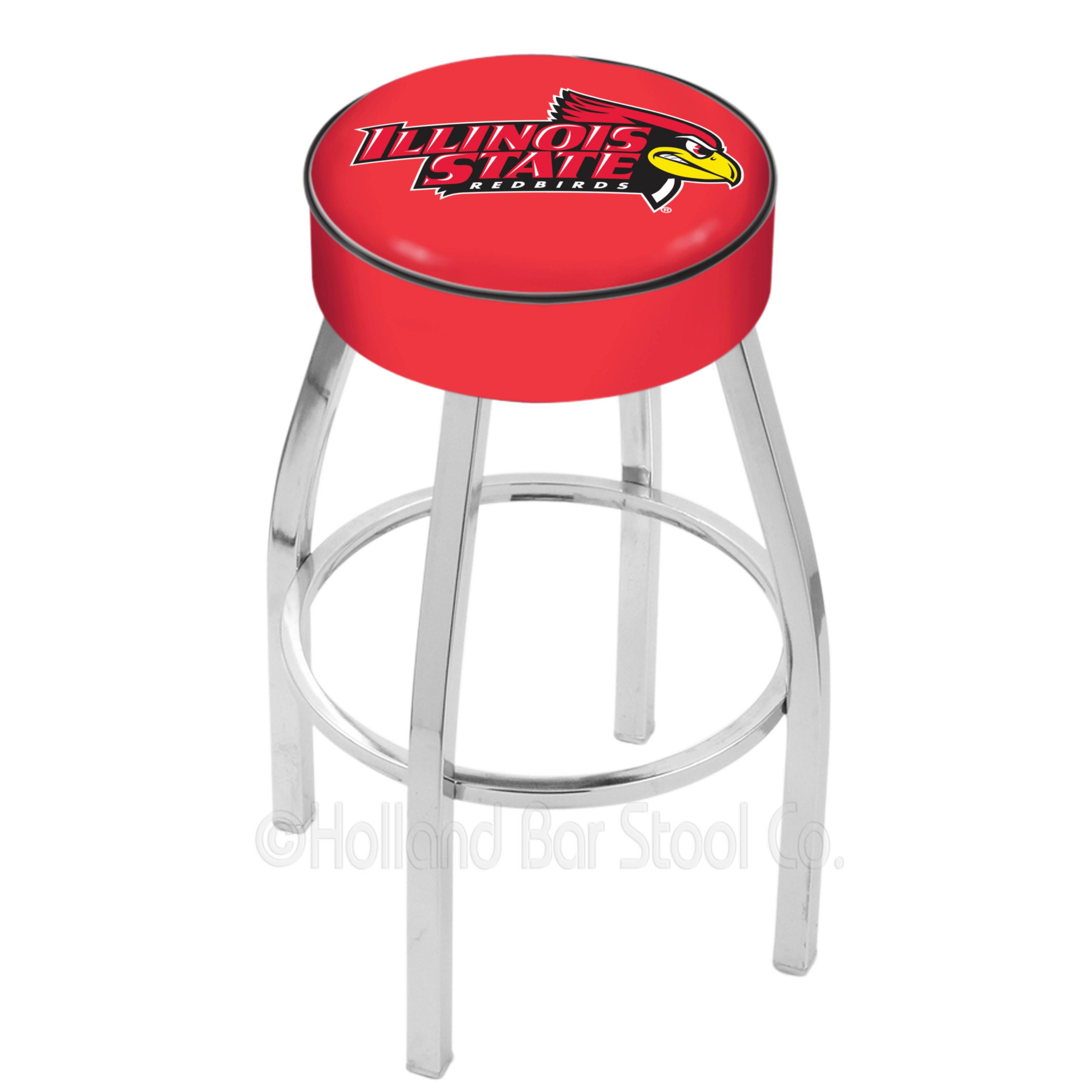 Illinois State Redbirds L8c1 Bar Stool By Hbs-25 L8C1IllStU