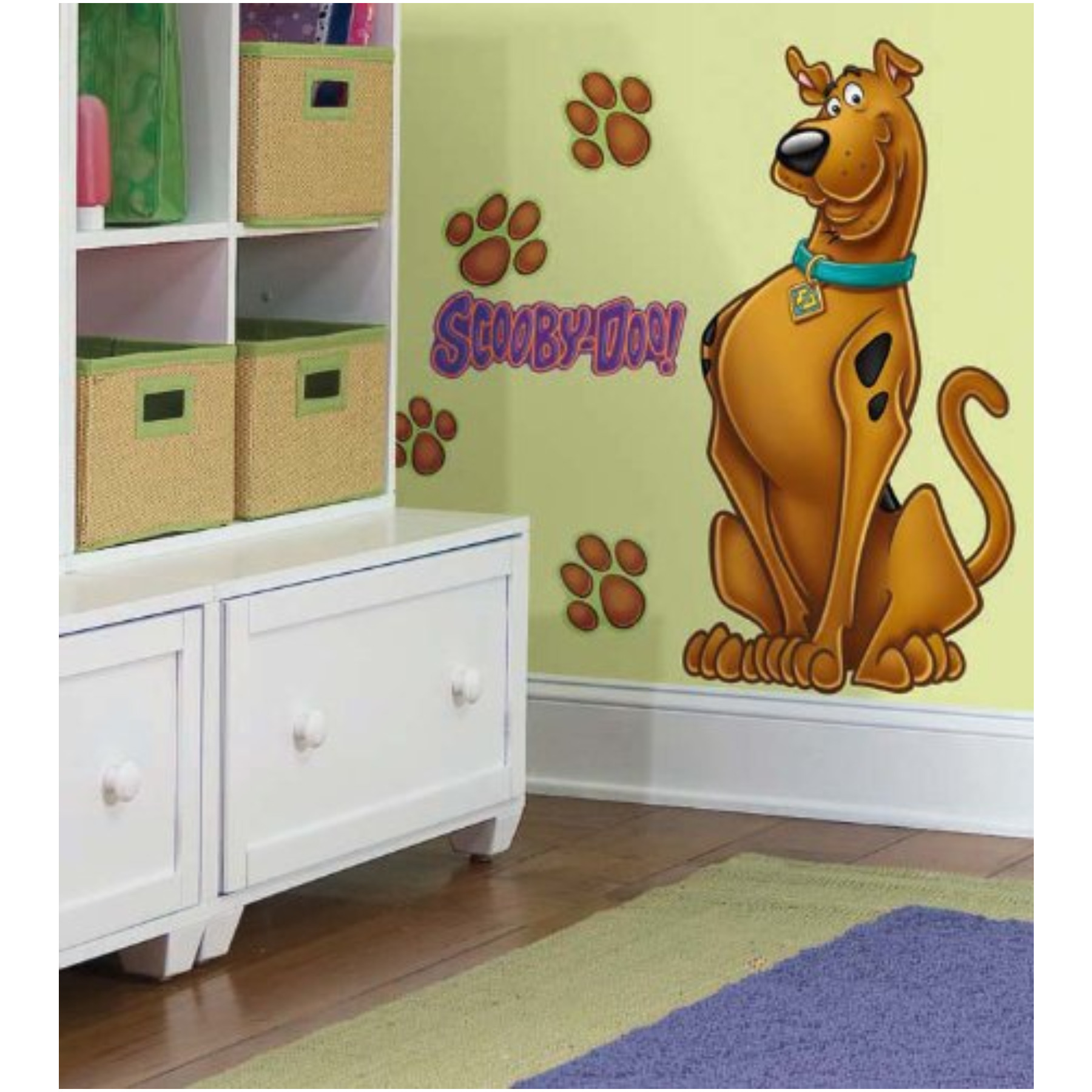 "Scooby Doo Wall Decal Cutout 18""X37"