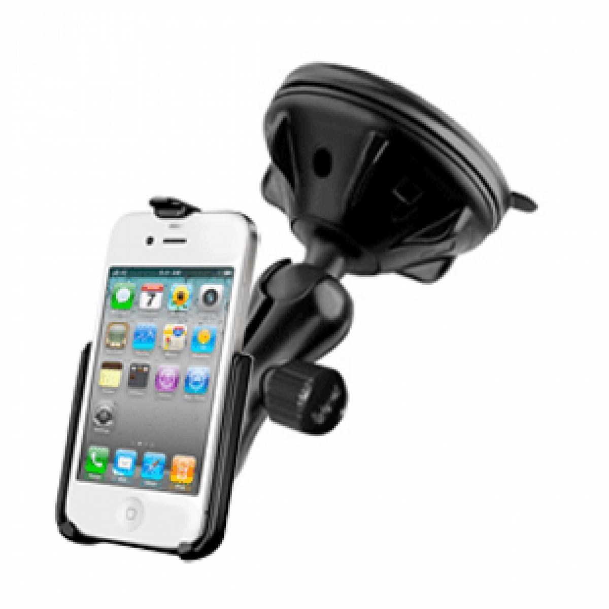 Ram Mount Apple iPhone 4/4s Composite Suction Cup Mount RAP-B-166-2-AP9U