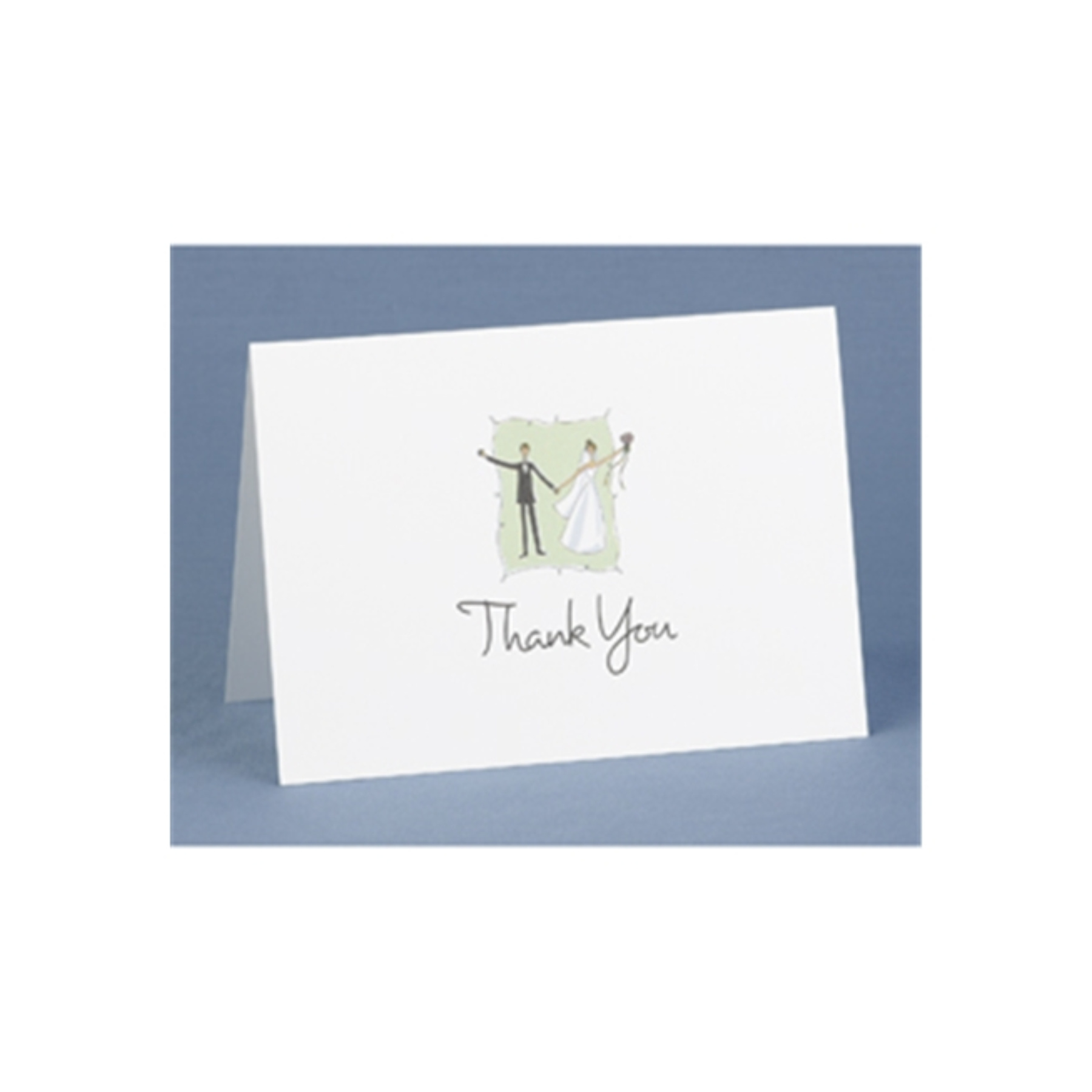 Contemporary Couple Thank You Cards As Shown One Size 45536