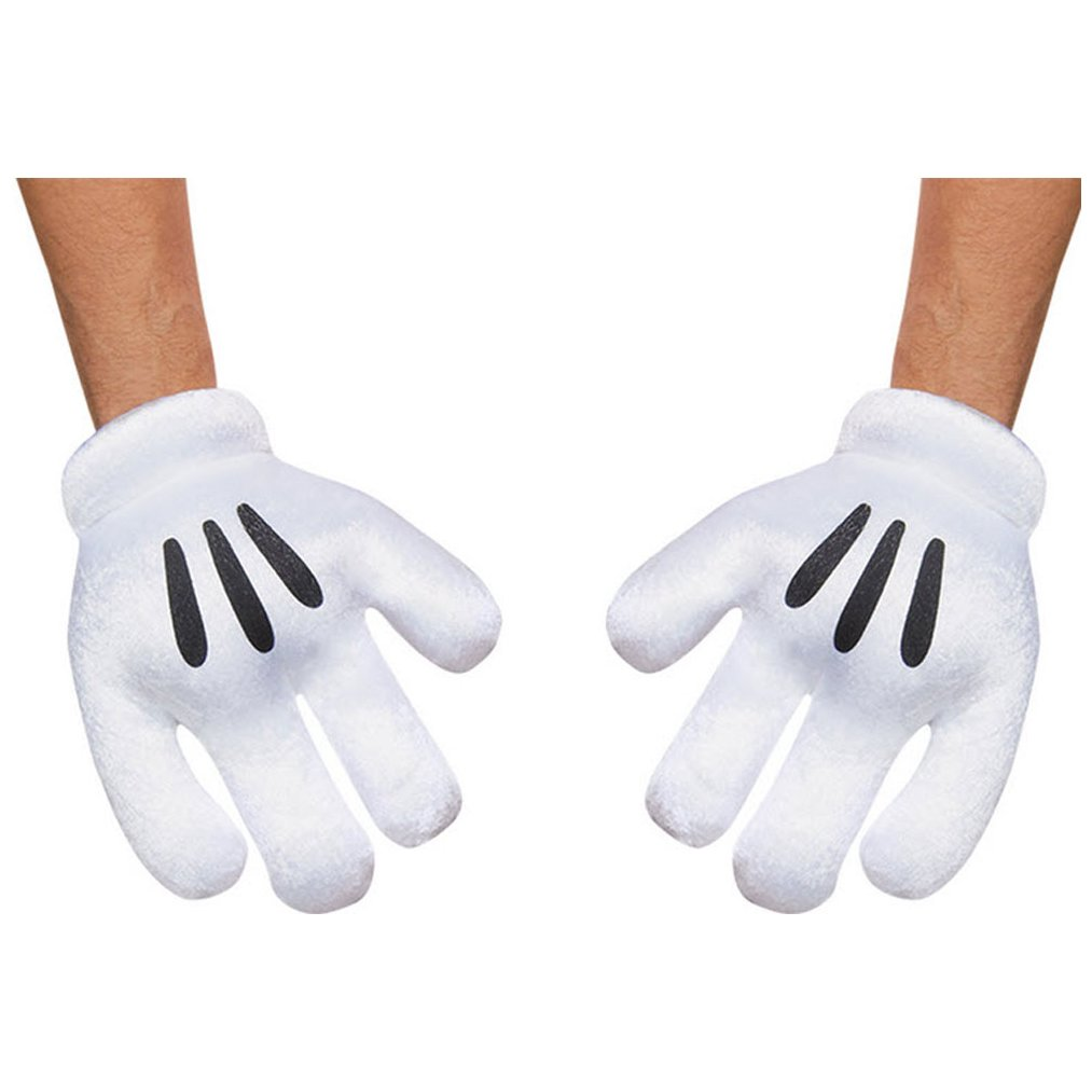 Mickey Mouse Adult Gloves As Shown Standard-Accesory 85582AD